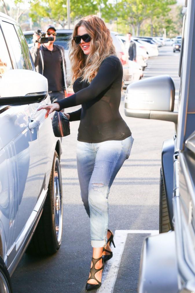 Khloe Kardashian le 14 janvier 2015
