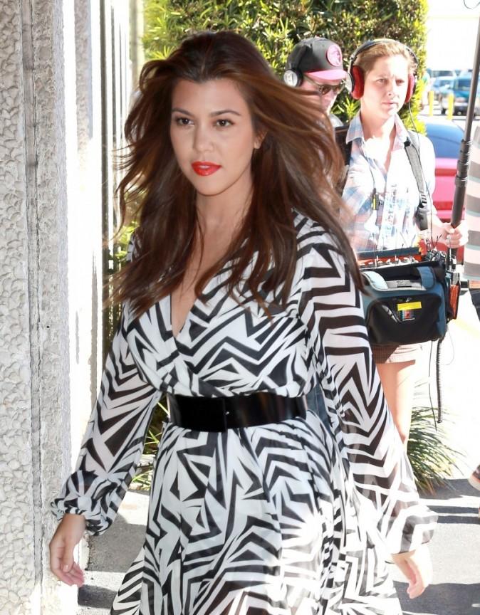 Kourtney Kardashian se rendant à la salle de Conseil de North Miami, le 19 novembre 2012.