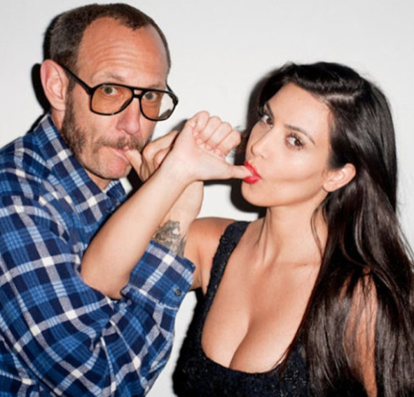 Kim Kardashian et Terry Richardson