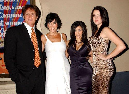 En 2006, avec Khloé, sa mère Kris et son beau-père Bruce Jenner