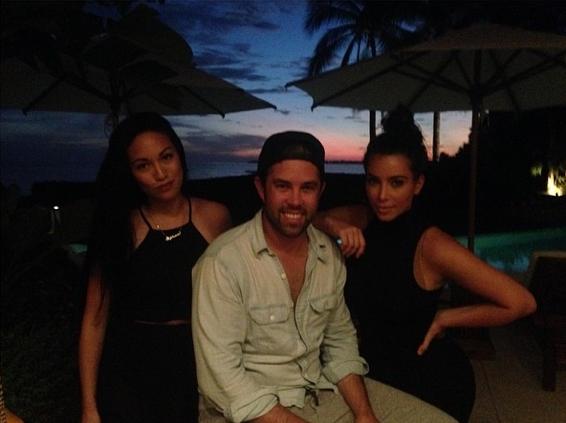 Photos : Kim Kardashian : elle poursuit ses vacances de rêve à Punta Minta !