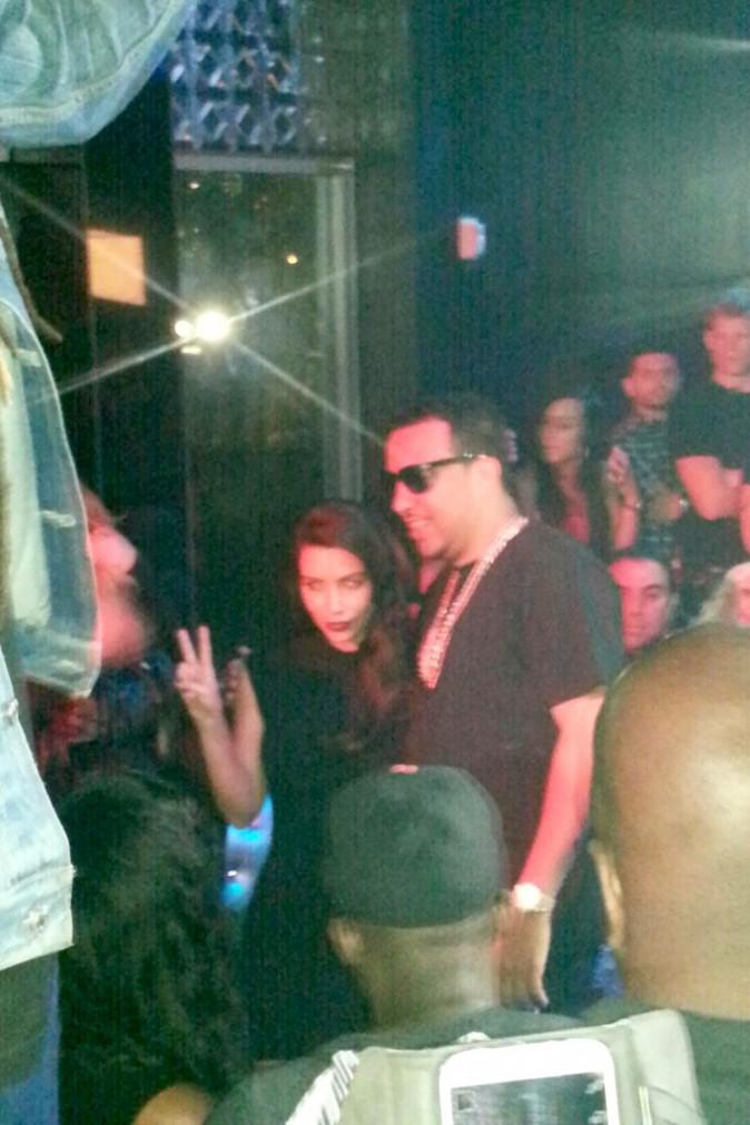 Photos : Kim Kardashian : à son tour de s'afficher aux côtés de French Montana !