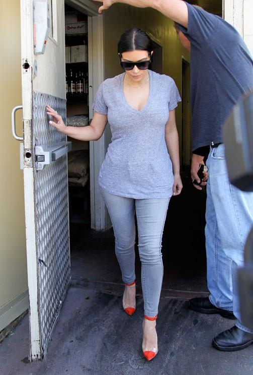 Kim Kardashian à Beverly Hills le 5 juin 2014