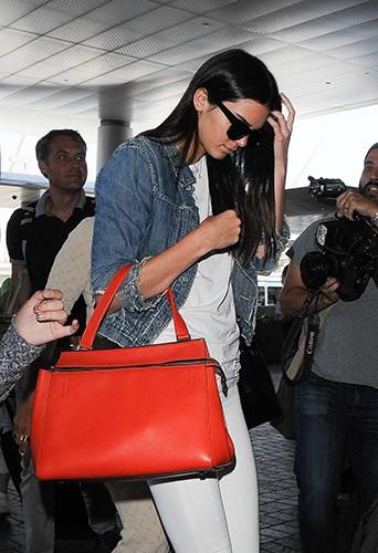 Kendall Jenner à l'aéroport de Los Angeles le 31 juillet 2014