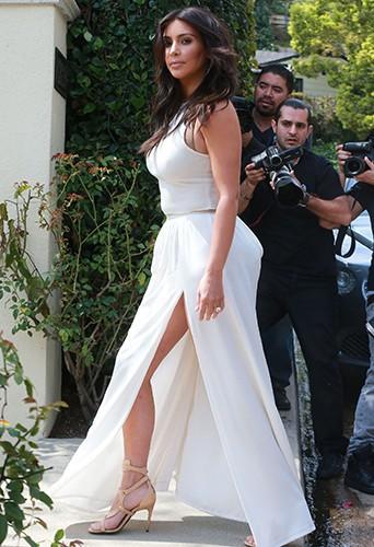 Kim Kardashian à Los Angeles le 22 mars 2014