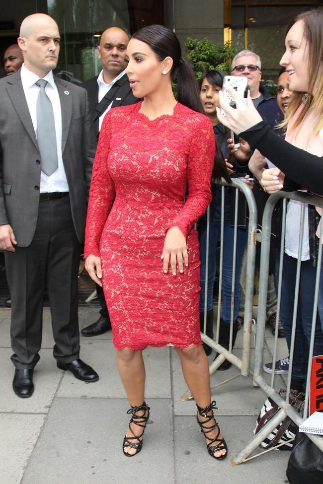 Kim Kardashian le 18 mai 2012à Londres