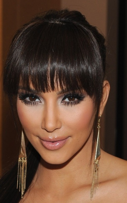 Couples swept away rooms tuto coiffure couper ses cheveux - Comment faire le maquillage de kim kardashian ...