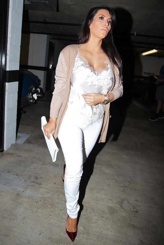 Kim Kardashian à Beverly Hills, le 28 février 2013.