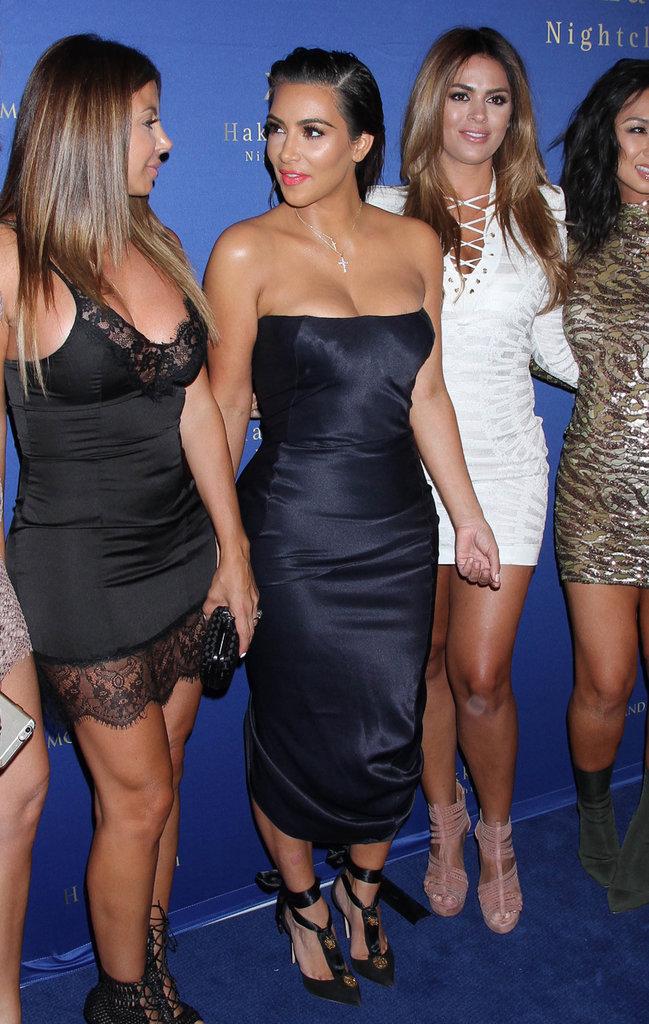 Kim Kardashian : bombesque à une soirée branchée à Las Vegas !