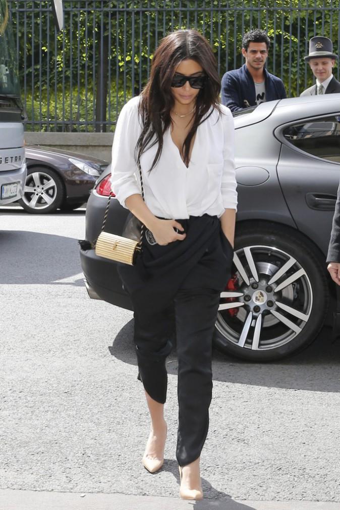 Kim Kardashian à Paris, le 30 avril 2014.