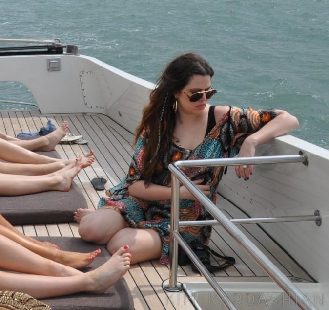 Khloe kardashian lors de vacances en République dominicaine