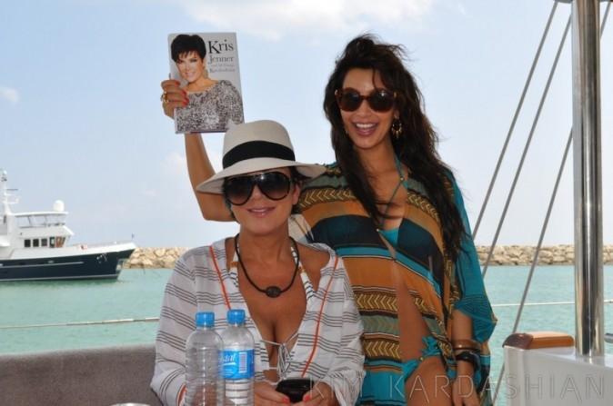 Kim Kardashain lors de vacances en République dominicaine