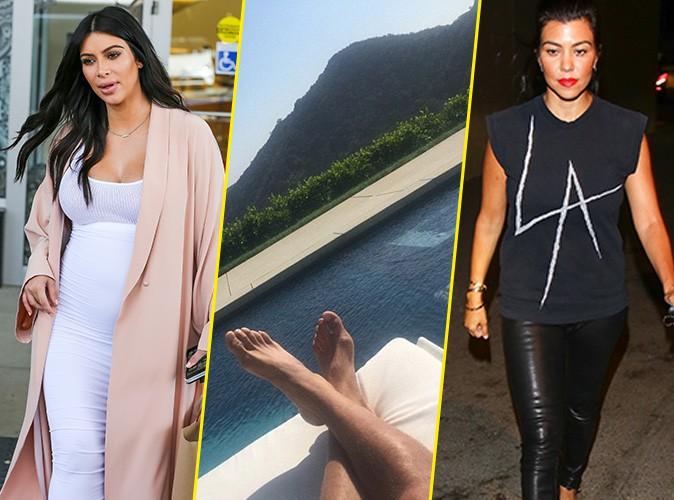 Photos : Kim Kardashian cède aux caprices de North, tandis que Scott réemménage !