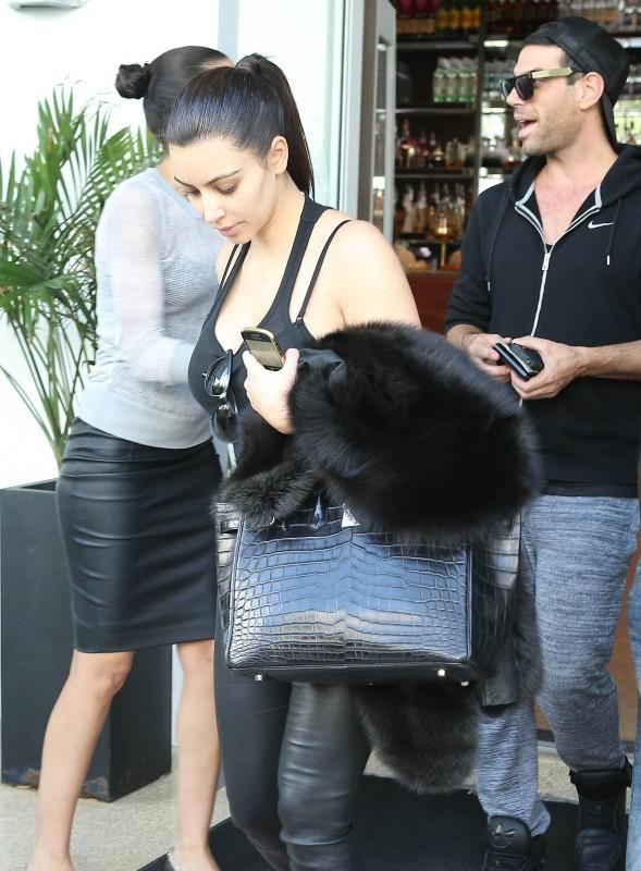 Kim Kardashian le 12 novembre 2012 à Miami