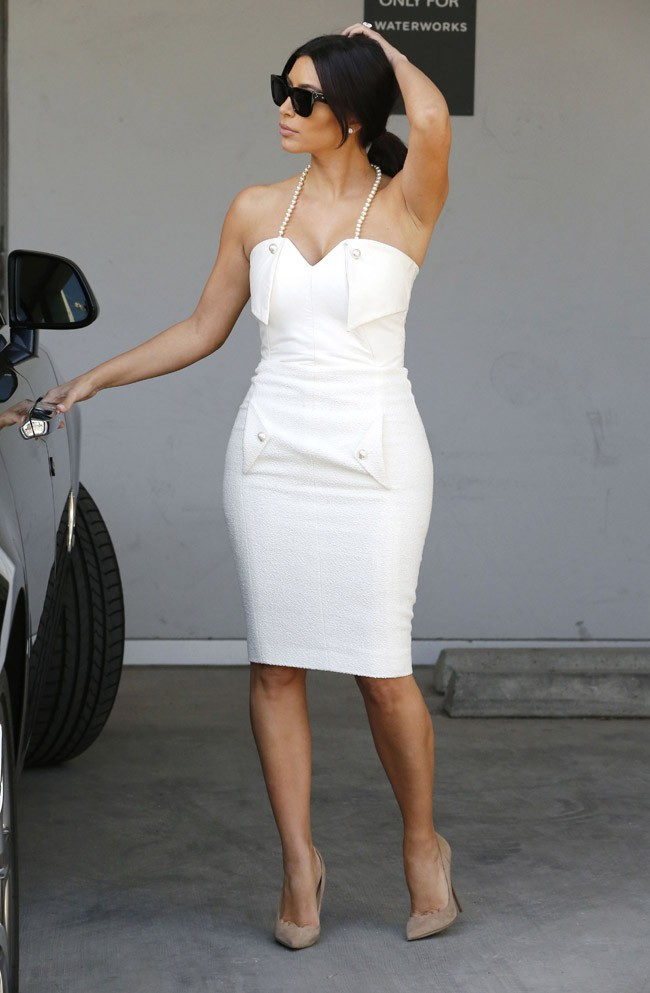 Kim Kardashian à Beverly Hills le 10 mai 2014