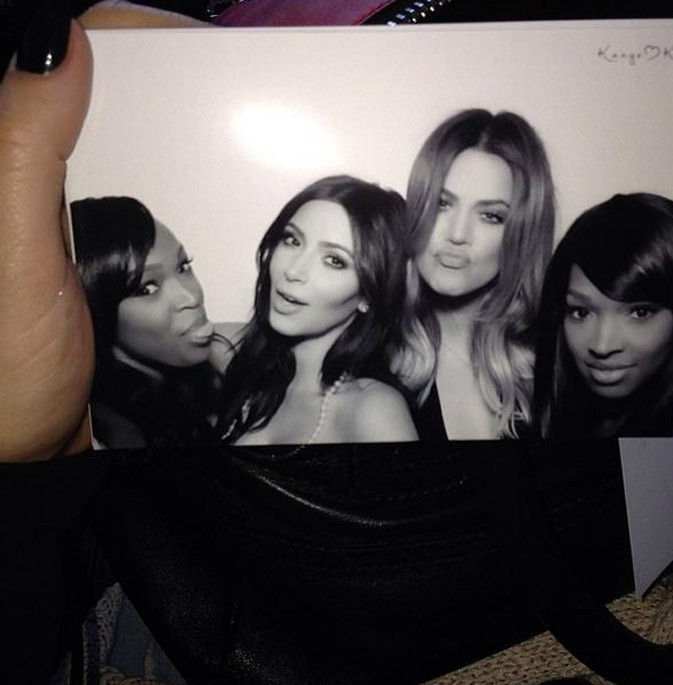 Photos souvenirs de la Bridal Shower de Kim Kardashian !