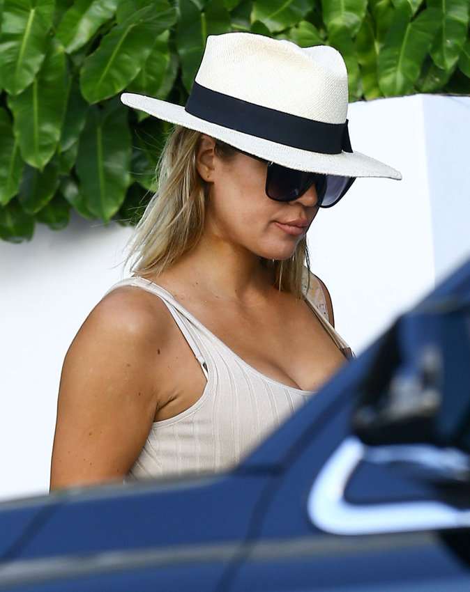 Khloe Kardashian à Miami ce vendredi 16 septembre