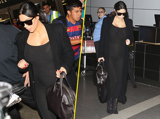 Kim Kardashian le 22 juillet 2015