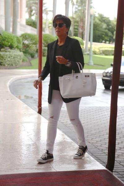 Kris Jenner à Miami, le 1er octobre 2012.