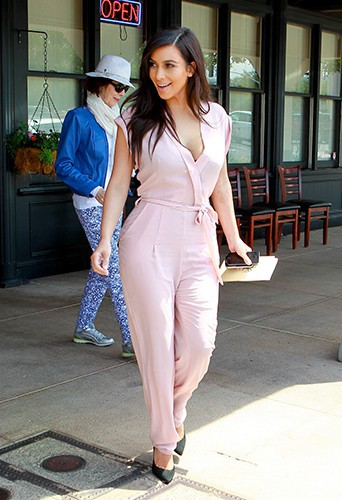 Kim Kardashian à Los Angeles le 18 avril 2014