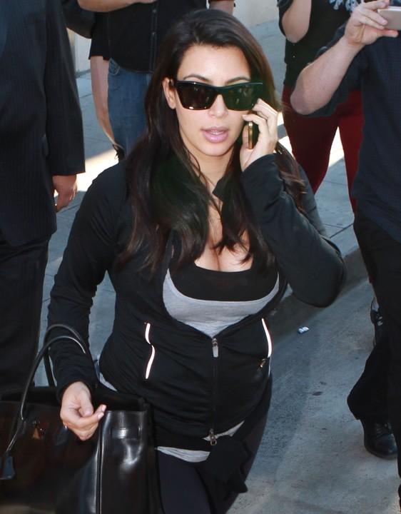 Kim Kardashian à Studio City (Californie), le 31 janvier 2013