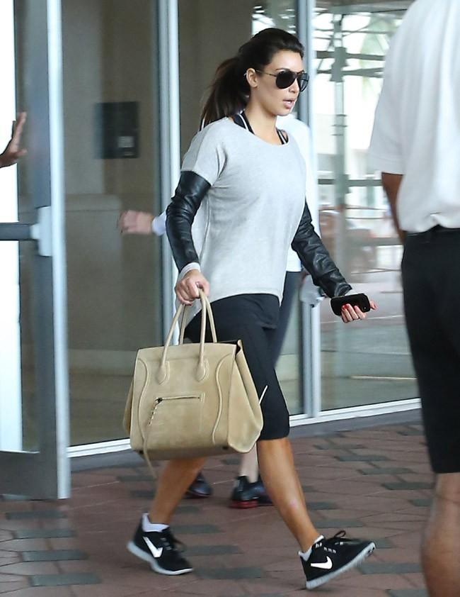 Kim Kardashian à Miami le 12 octobre 2012