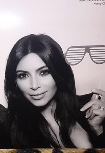 Noël 2014 : Kim Kardashian