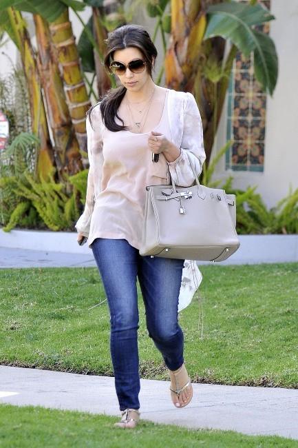Kim Kardashian à Los Angeles, le 27 mars 2012.