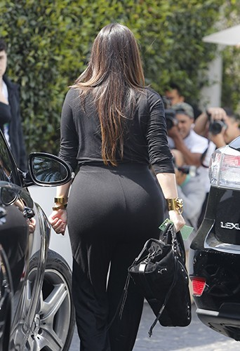 Kim Kardashian à Los Angeles le 6 avril 2013