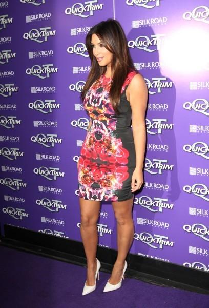 Kim Kardashian lors de la soirée QuickTrim Purple Reign party à Melbourne, le 20 septembre 2012.