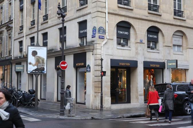 La boutique Tom Ford visitée par Kim !