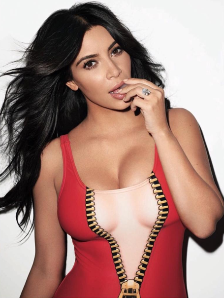 Kim Kardashian pour Rolling Stone