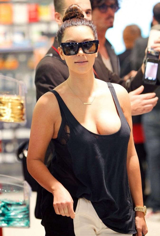 Kim Kardashian, Sydney, 23 septembre 2012.