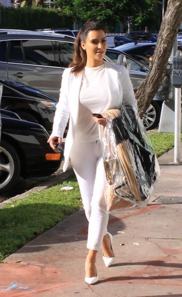 Kim Kardashian à Miami, le 16 octobre 2012.