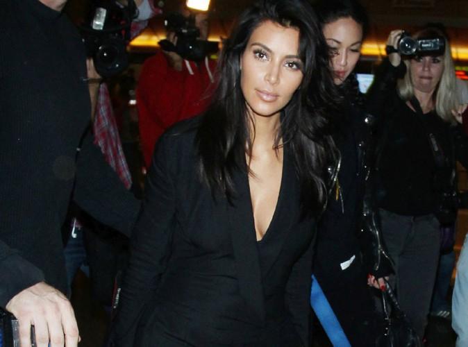 Kim Kardashian : elle remballe (presque) tout pour prendre l'avion !