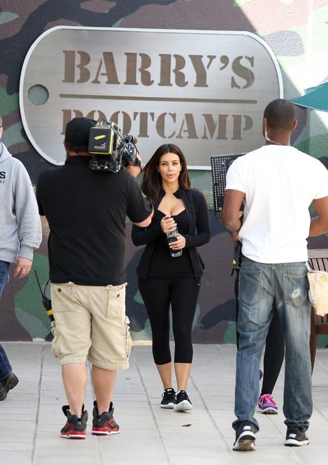 Kim Kardashian à Los Angeles le 5 mars 2014