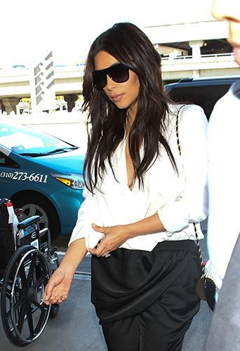 Kim Kardashian à Los Angeles le 29 avril 2014