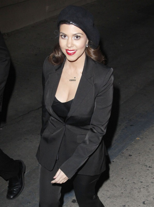 Kourtney Kardashian le 29 janvier 2013 à Hollywood