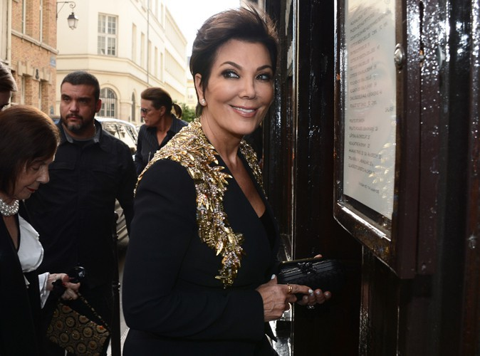 Kris Jenner à Paris le 22 mai 2014