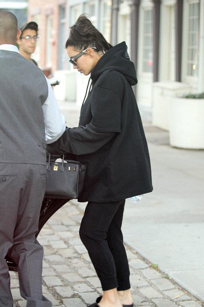 Kim Kardashian dans les rues de Los Angeles ce lundi 12 septembre