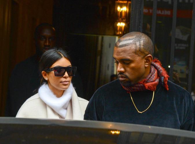 Photos : Kim Kardashian et Kanye West : à peine arrivés à Paris, ils démarrent leur marathon mode !