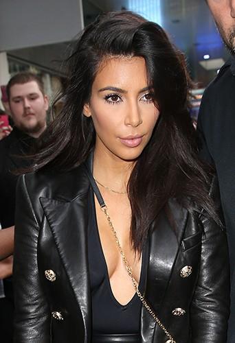 Kim Kardashian à Melbourne le 9 septembre 2014