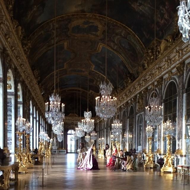 Le Château de Versailles...