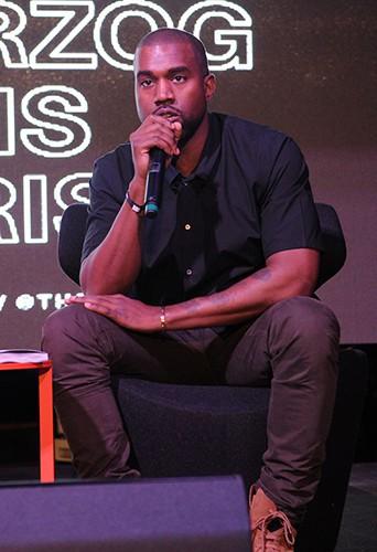 Kanye West à Miami le 4 décembre 2013