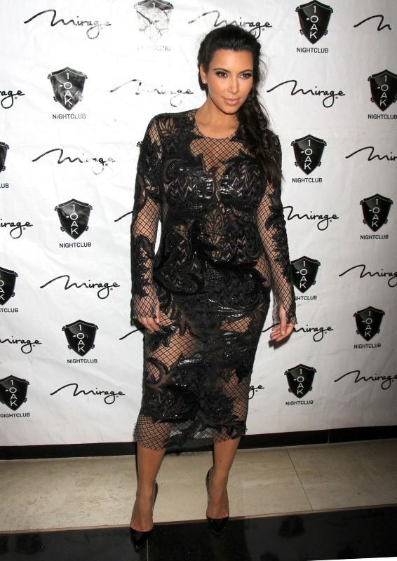 Kim Kardashian le 31 décembre 2012 à Las Vegas