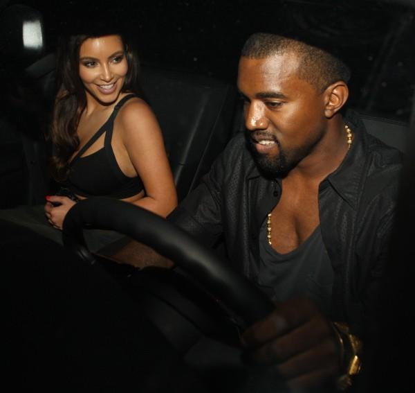 Kim Kardashian et Kanye West... C'est le bonheur !