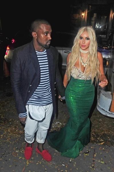 Kim Kardashian et Kanye West ont célébré Halloween 2012 comme il se doit...