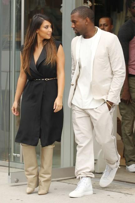 Shopping de Luxe pour Kim et Kanye...