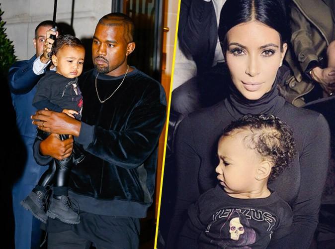 Photos : Kim Kardashian et Kanye West : un premier frontrow à Paris pour North avant un dîner en amoureux !