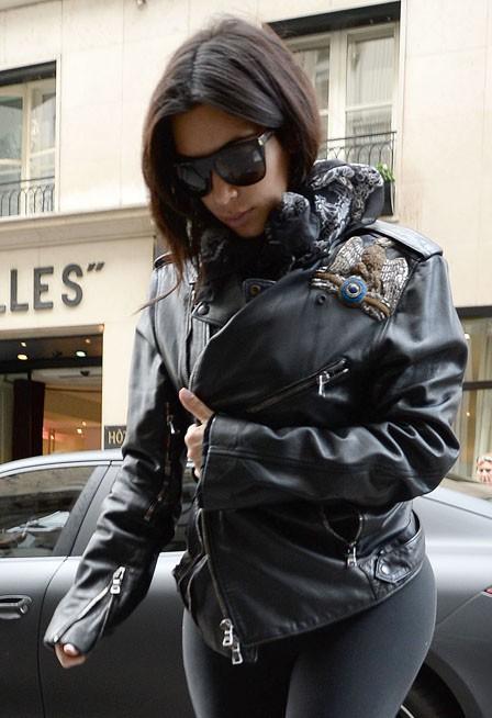 Kim Kardashian à Paris le 20 mai 2014